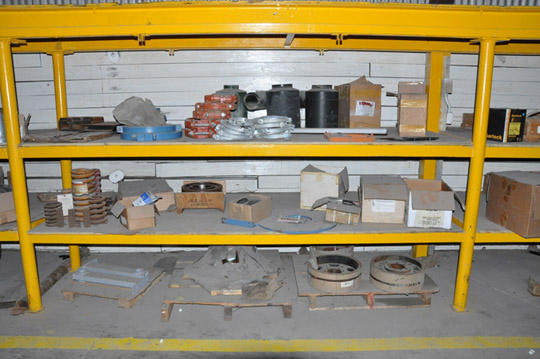 Lot-Springs, Couplings, Pipe Flanges, Oil Seals, Breakers and - Image 3 of 15