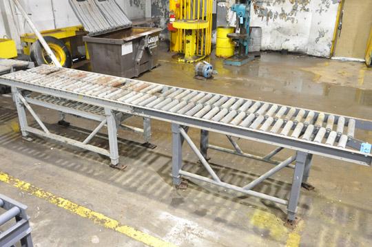 """32"""" X 192"""" Double Roller Conveyor"""
