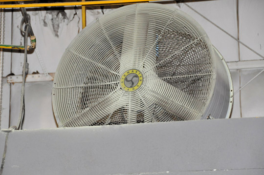 "Lot 11B - AIR MASTER 42"" Drum Fan"