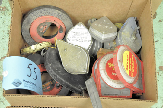 Lot-Tape Measures, Chalk Lines and Squares in (3) Boxes - Image 3 of 4