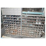 Lot-(2) 72-Slot Hardware Organizers with Grade 5 Hex Head Bolts,