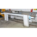 """48"""" X 120"""" X 1/2"""" Thick Steel Work Table"""