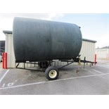 ADAMS SINGLE AXLE TRAILER WITH OIL DRUM (SUBJECT TO GROUP LOT 7)