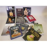 A quantity of reference books on Art Deco, including Bryan Catley, Art Deco and other figures,