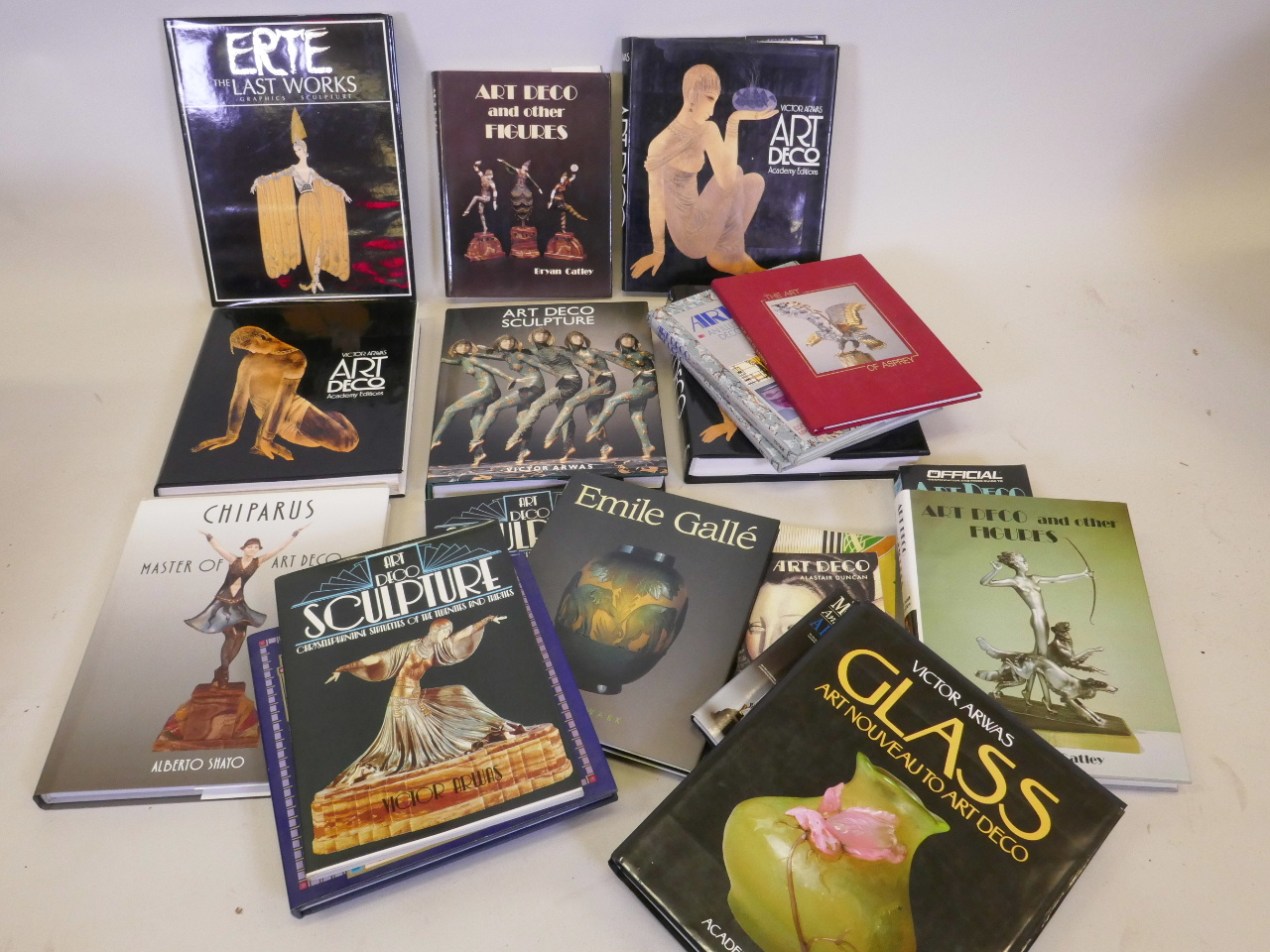 Lot 51 - A quantity of reference books on Art Deco, including Bryan Catley, Art Deco and other figures,