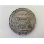 A commemorative medal celebrating the golden jubilee of the Austin motor car, 1905-1955, 2½""