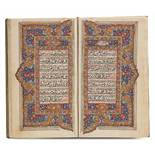 AN ILLUMINATED COLLECTION OF PRAYERS, INCLUDING DALA'IL AL-KHAYRAT, KASHMIR,19TH CENTURY