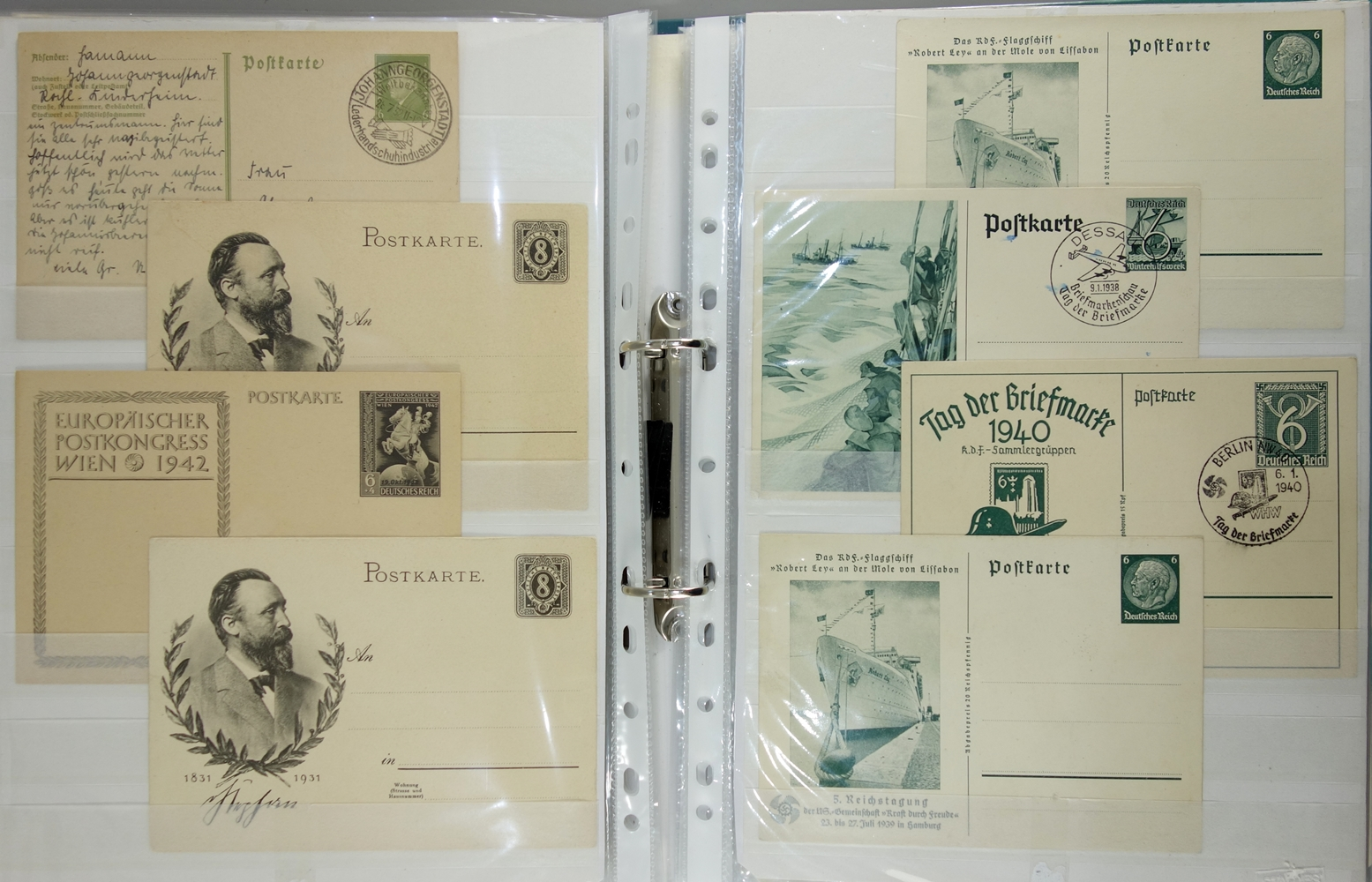 90 Ganzsachen, Deutschland, um 1880 bis ca.1989; u.a. 5* Königreich Bayern, 1* Königreich - Bild 3 aus 3