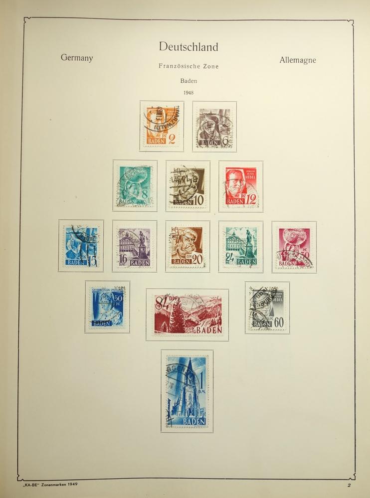 2 KB-BE Briefmarkenalben Nr. 1321/1323, Deutsches Reich und Inflation; Deutsches Reich 1880-1948, - Bild 2 aus 5