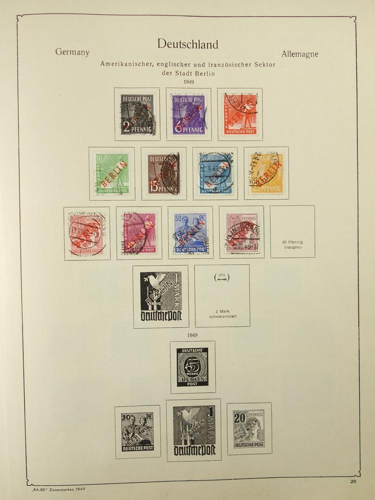 2 KB-BE Briefmarkenalben Nr. 1321/1323, Deutsches Reich und Inflation; Deutsches Reich 1880-1948, - Bild 4 aus 5