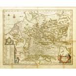 """Jan Jansson(ius) (1588, Arnheim-1664, Amsterdam), """"Germaniae veteris nova descriptio"""", 1657,"""