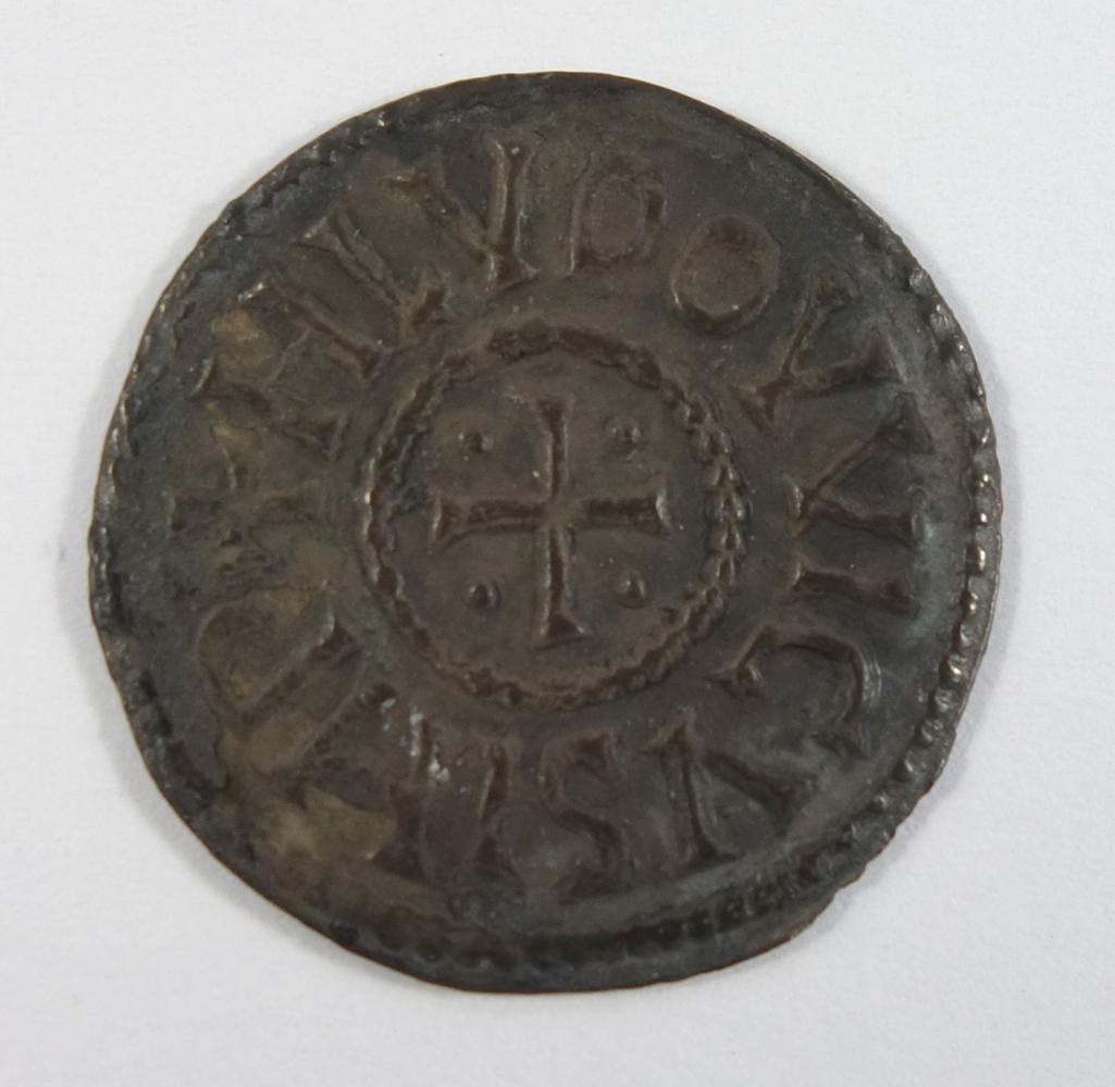 Karolinger, Ludwig der Fromme, Denar nach 822, D.20mm, Vorderseite: Mailand. Kreuz, in den Winkeln - Bild 2 aus 2