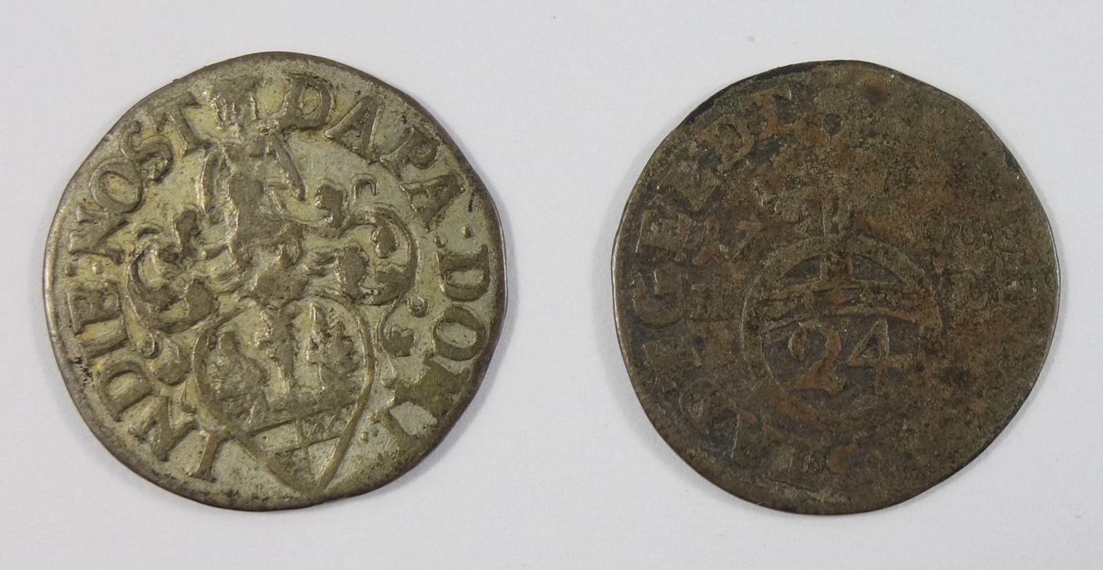 2* 1/24 Taler 1706, Hildesheim Stadt, s-ss2 * 1/24 Taler 1706, Hildesheim - Bild 2 aus 2
