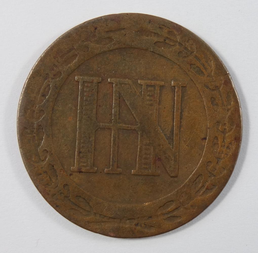 11 Cent-Stücke, Westfalen, Hieronymus Napoleon: 3*1 Cent 1812; 3* 2 Cent 1809 (2*unlesbar), 4* 3 - Bild 2 aus 2