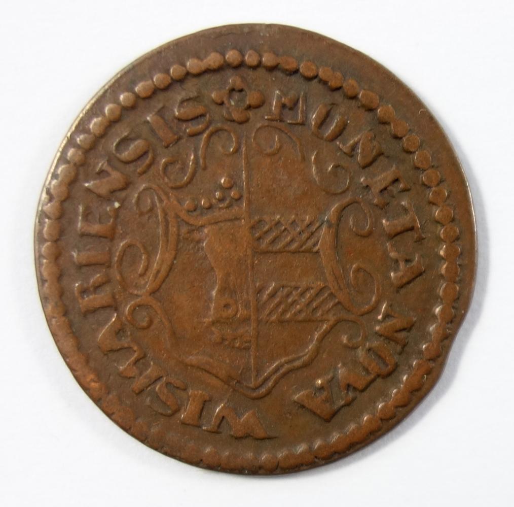 3 Pfennig 1835, ICM Mecklenburg-Wismar, ss3 pfennig 1835, ICM Mecklenburg-Wismar