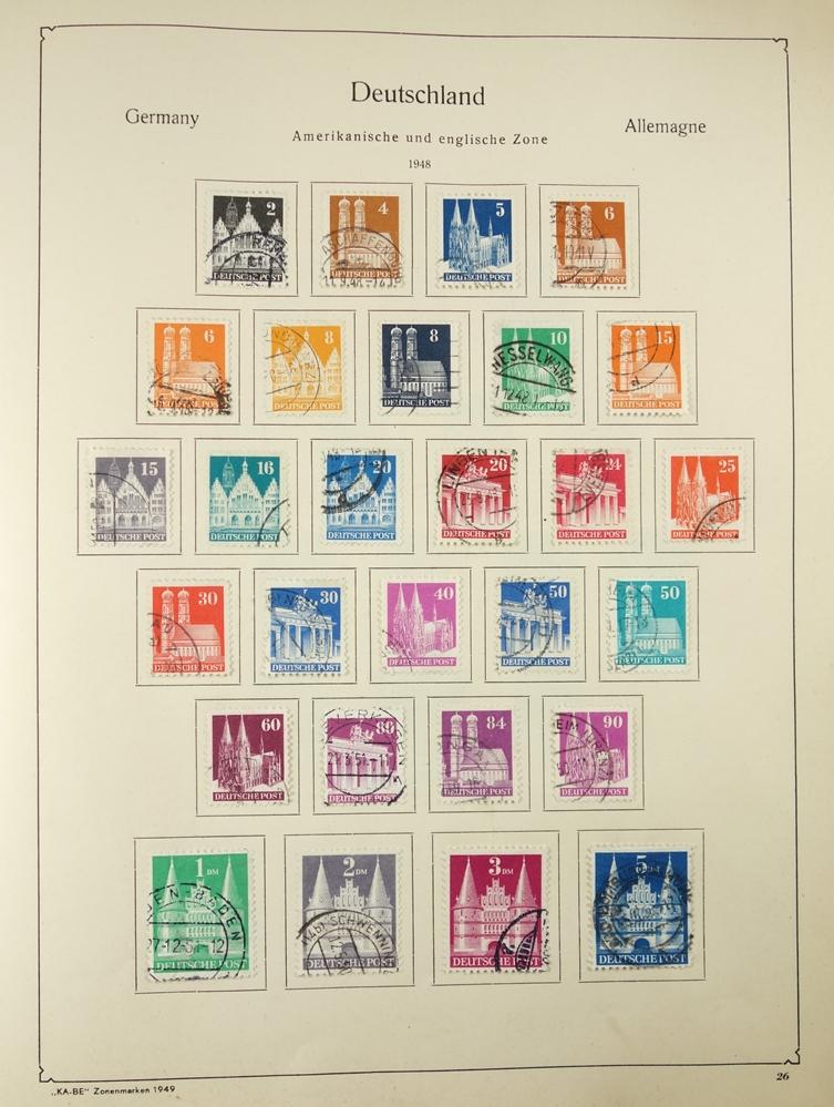 2 KB-BE Briefmarkenalben Nr. 1321/1323, Deutsches Reich und Inflation; Deutsches Reich 1880-1948, - Bild 5 aus 5