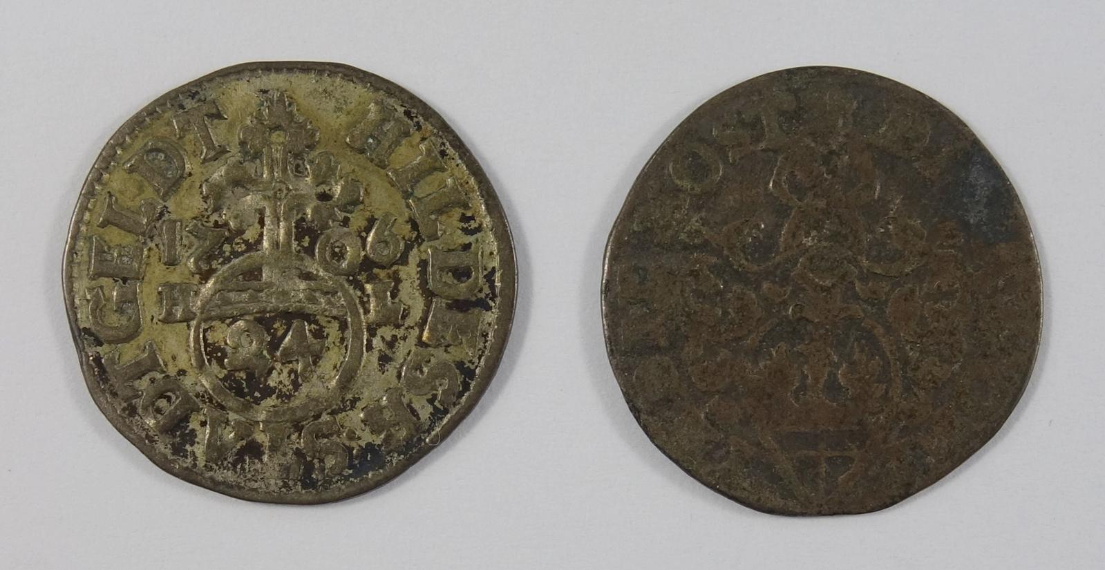 2* 1/24 Taler 1706, Hildesheim Stadt, s-ss2 * 1/24 Taler 1706, Hildesheim