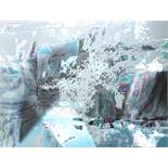 "Charlotte Sommer-Landgraf (1928-2006, Dresden), ""Pixel in Grau"", 2004, Tintenstrahldruck, unten"