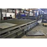 """2015 MESSER MDL. MMEXCEL HI-DEF CNC PLASMA CUTTING TABLE, [2] HEADS, 140"""" X 324"""" OVERALL TABLE SIZE,"""
