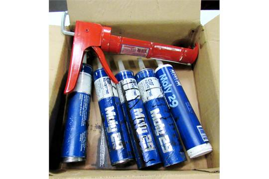5) Keystone Moly 29 Grease Tubes