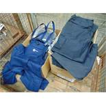 Approx 40 x UNISSUED Combat Trousers & Approx 19 x Bib and Braces Work Dungarees