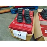 Qty 5 x UNISSUED Steitz Secura Safety Boots Size 7