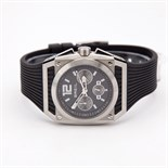 Briel Watch - Quartz TW0692 Black Polyurethane Strap Black Dial