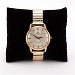 Omega Geneve Automatic Watch - Gold Plated Expanding Bracelet