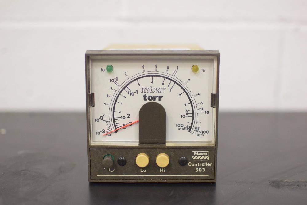 Edwards 503 Gas Chromatography Controller