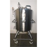 Allegheny Bradford 300L Jacketed Mixing Vessel