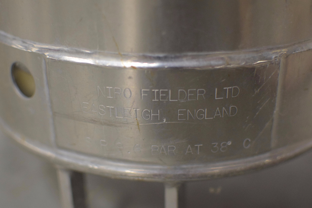 Alloy Products Stainless Steel Portable Vessel - Image 2 of 2