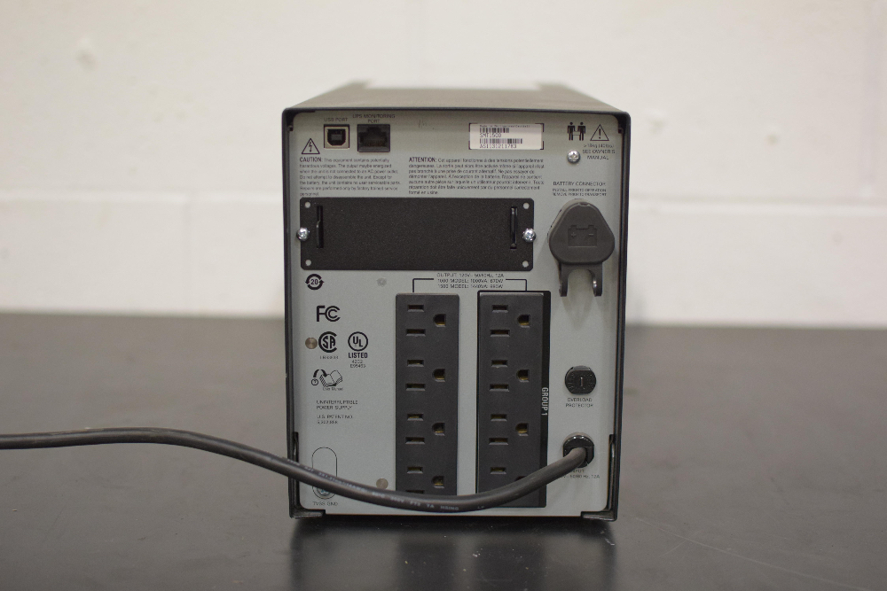 APC Smart-UPS 1500 Uninterruptible Power Supply - Image 2 of 2