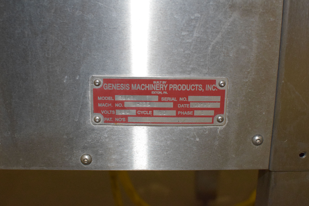 Genesis Machinery Products RU48 Accumulation Table - Image 4 of 4