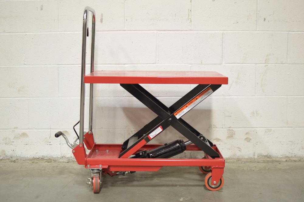 Dayton 3KR46J Hydraulic Elevating Carts