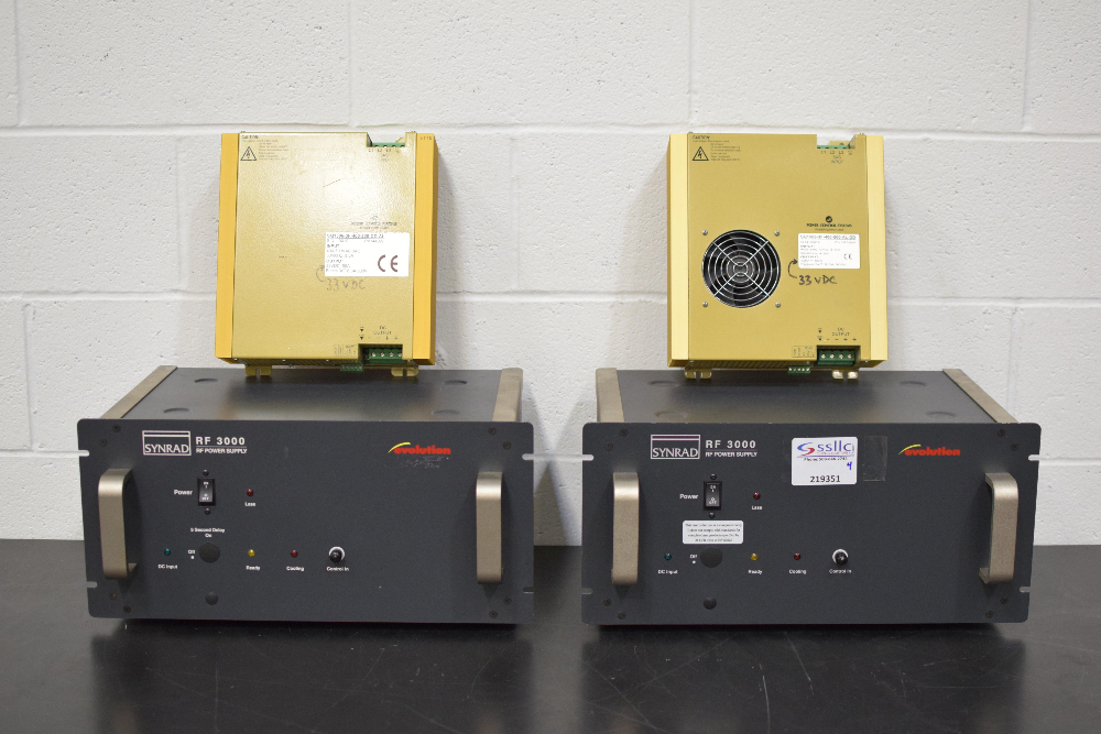 Lot of Laser Power Supplies and Control Units