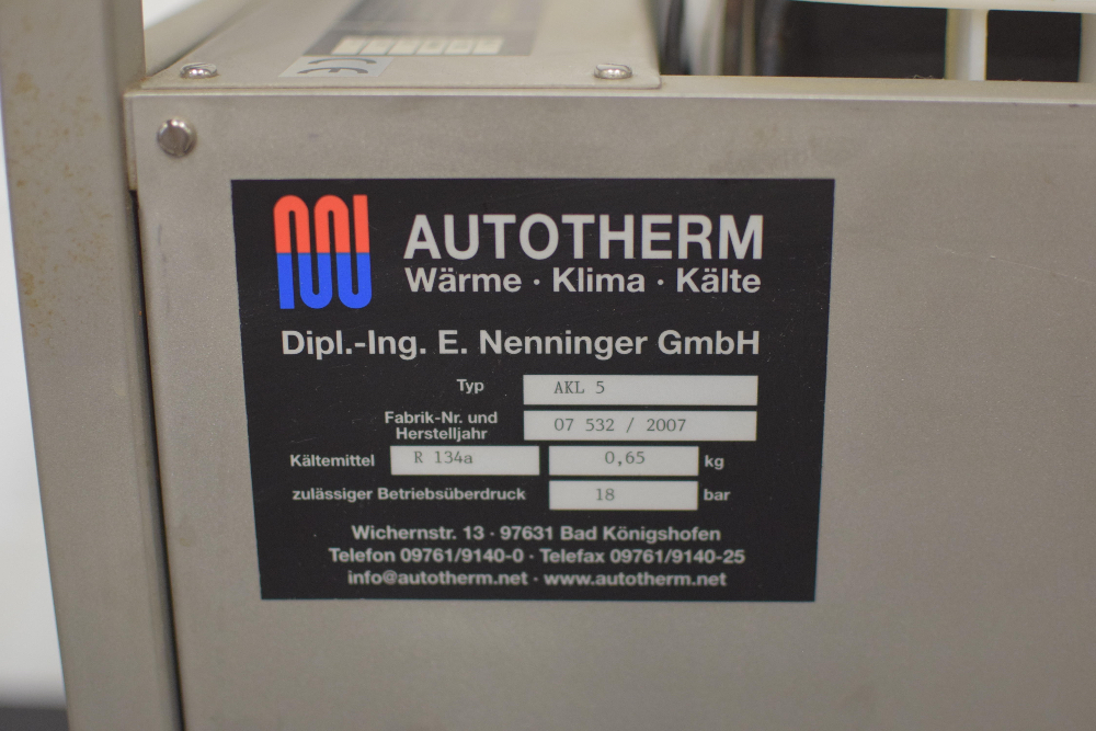 AutoTherm AKL 5 Water Chiller - Image 2 of 6