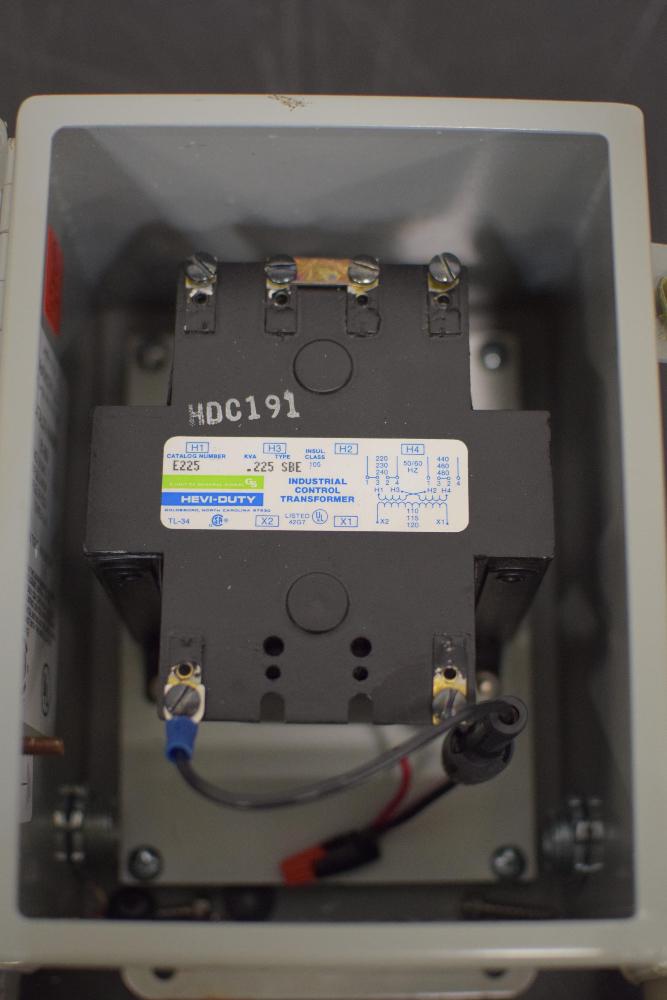 HEVI-DUTY E225 Industrial Conrtol Transformer - Image 2 of 3