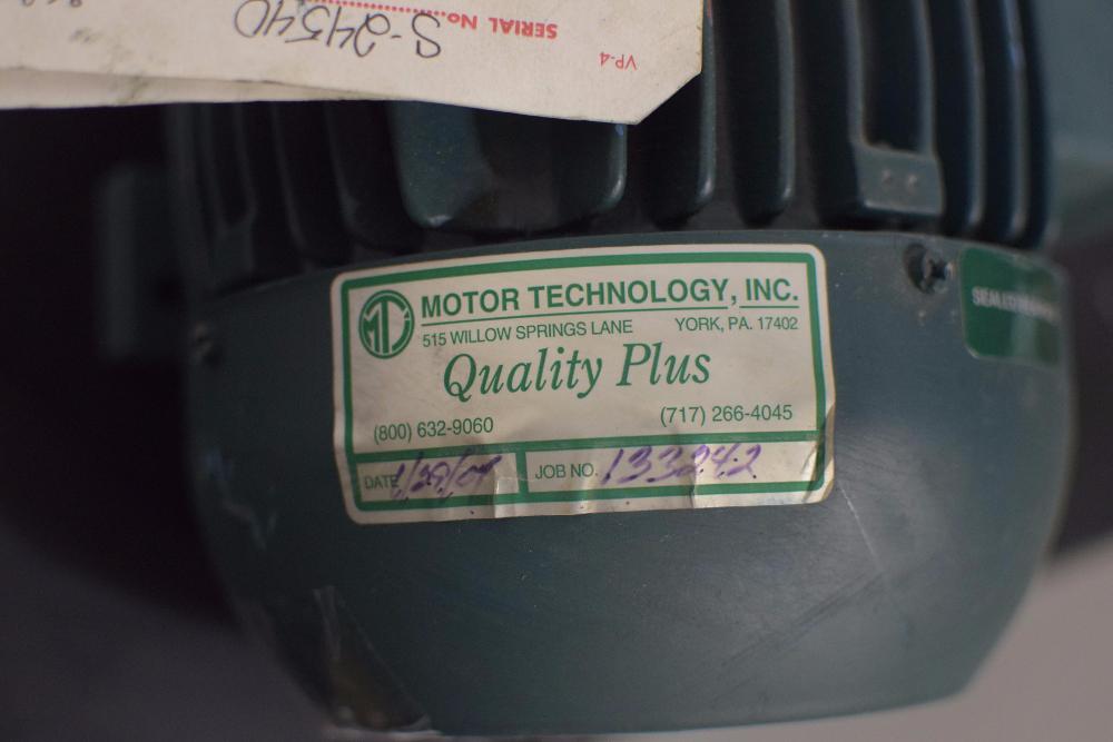 WEG W21 Severe Duty 2HP Motor - Image 3 of 5