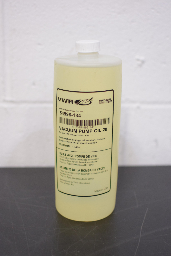 Lot of (28) VWR 54996-184 Vacuum Pump Oil - Image 2 of 2