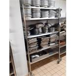 2 x Stainless Steel Heavy Duty Shelving Units