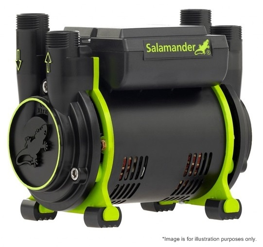 1 X Salamander Ct75 Xtra 2 0 Bar Twin Positive Shower Pump