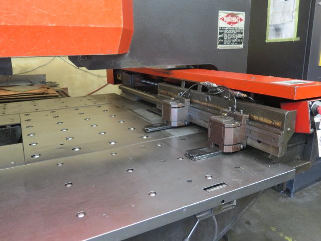 Lot 89 - 1999 Amada PEGA244 mdl. PEGA204040 20-Ton CNC Turret Punch Press s/n AP440230 w/ Amada Amadan-O4P-