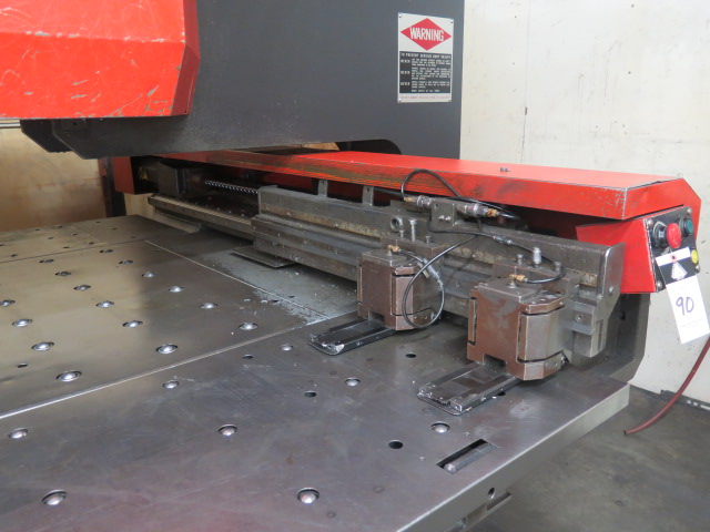 Lot 90 - 1996 Amada PEGA244 mdl. PEGA204040 20-Ton CNC Turret Punch Press s/n AP440205 w/ Amada Amadan-O4P-