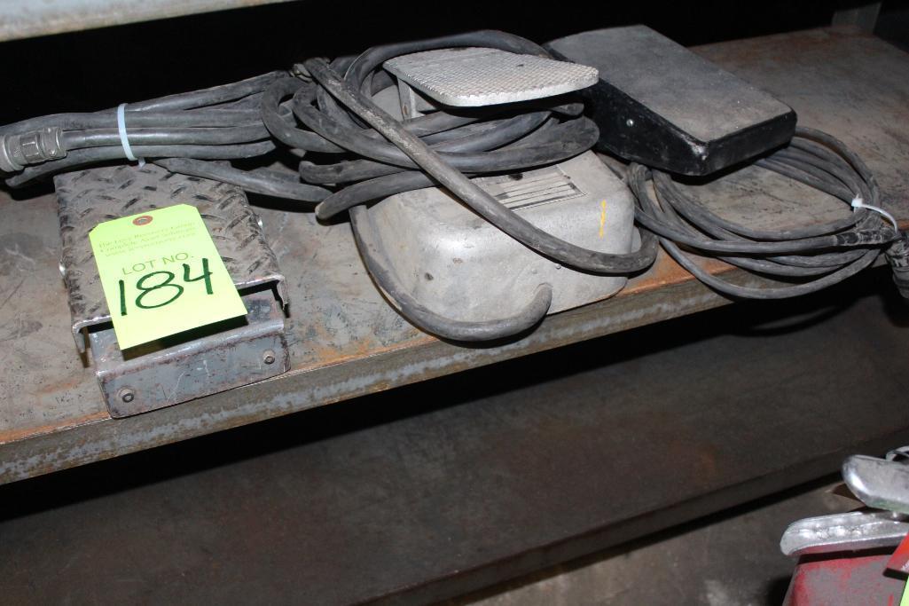 Lot 184 - Mig Welding Foot Pedal Controls