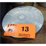 """12"""" DIAMETER MAGNETIC CHUCK, S/N: N/A"""