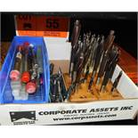 LOT/ TAPS AND COUNTERSINK REAMERS