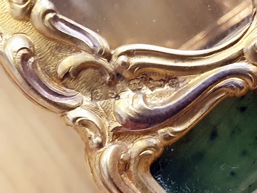 Please note:- Fabergé nephrite, rock crystal, mother-of-pearl and vari-colour gold miniature - Image 34 of 74