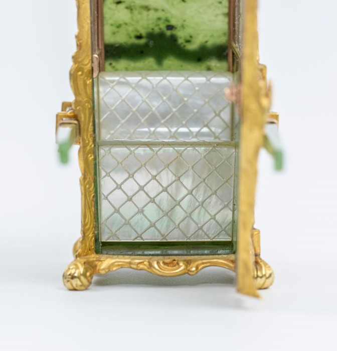 Please note:- Fabergé nephrite, rock crystal, mother-of-pearl and vari-colour gold miniature - Image 41 of 74