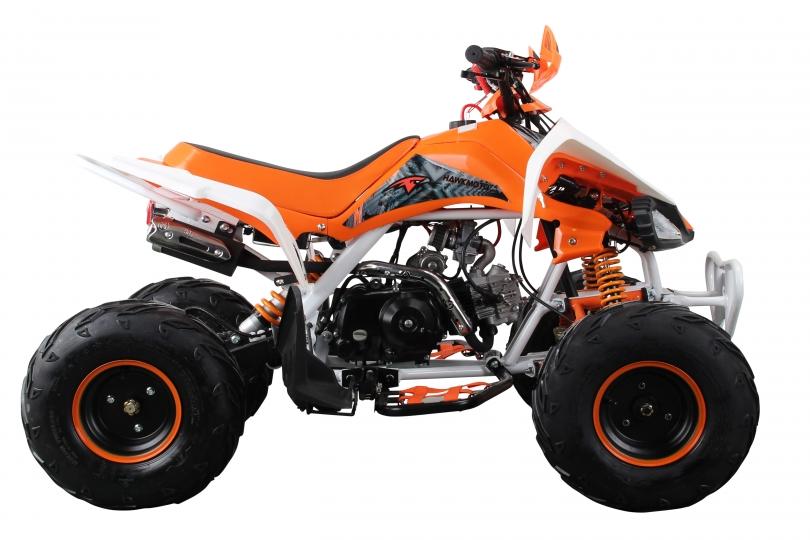 Lot 23530 - V Brand New 125cc Interceptor SV2 4 Stroke Quad Bike With Reverse Gear - Double Front Suspension/