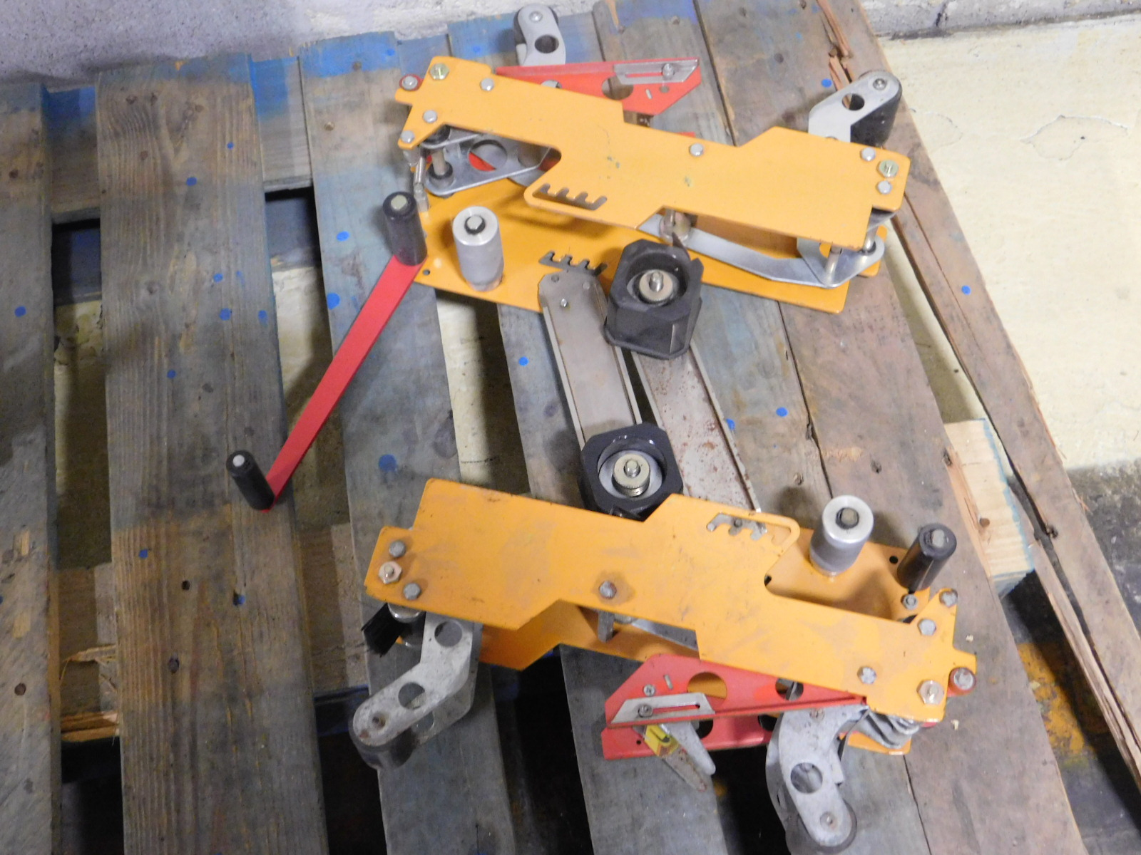 Lot 37 - Lot of 2 Box Tapers :equipment located at Clark Logistic Services |314-389-4004 |ST. LOUIS